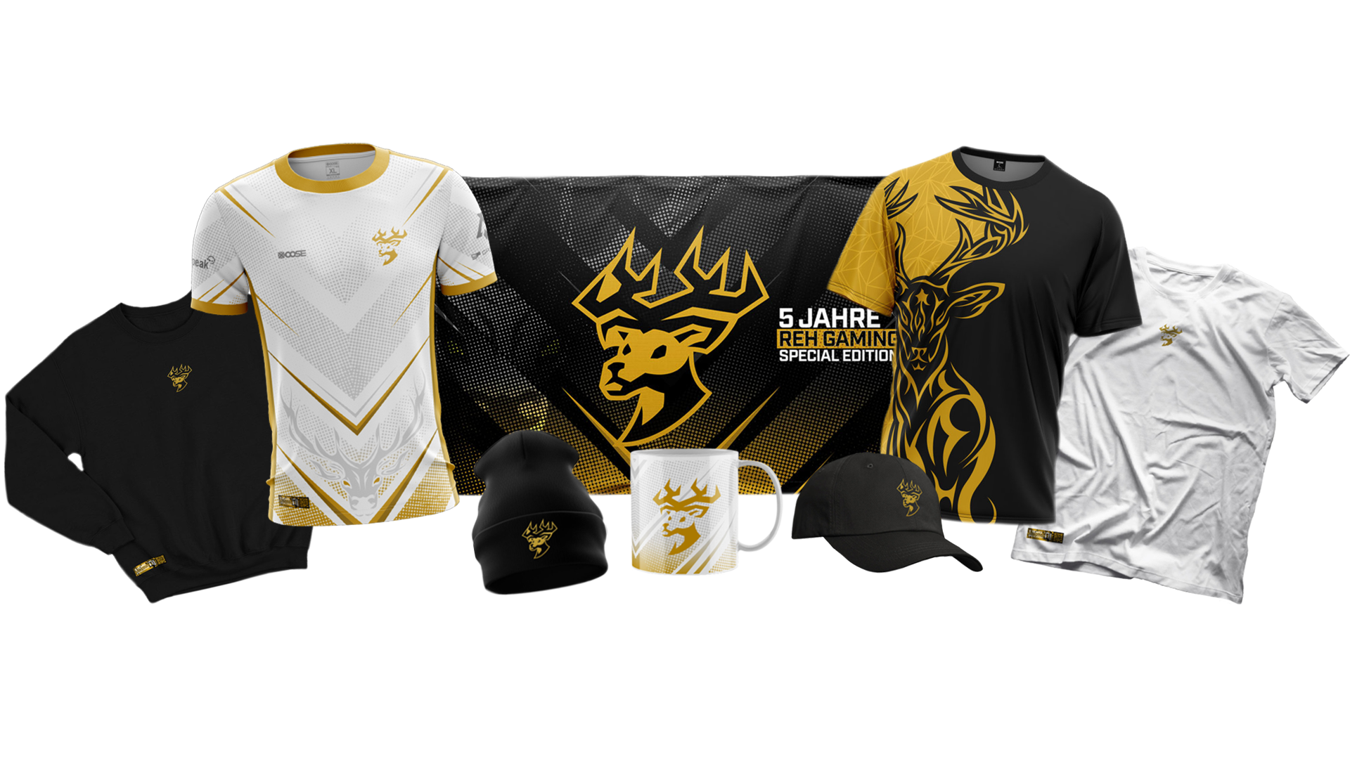 5 Jahre REH Gaming Merchandise Collection